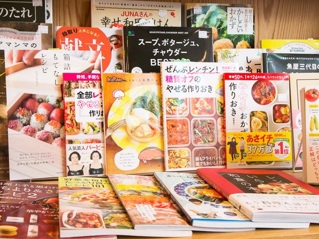 Japanese Foods Receipt Books