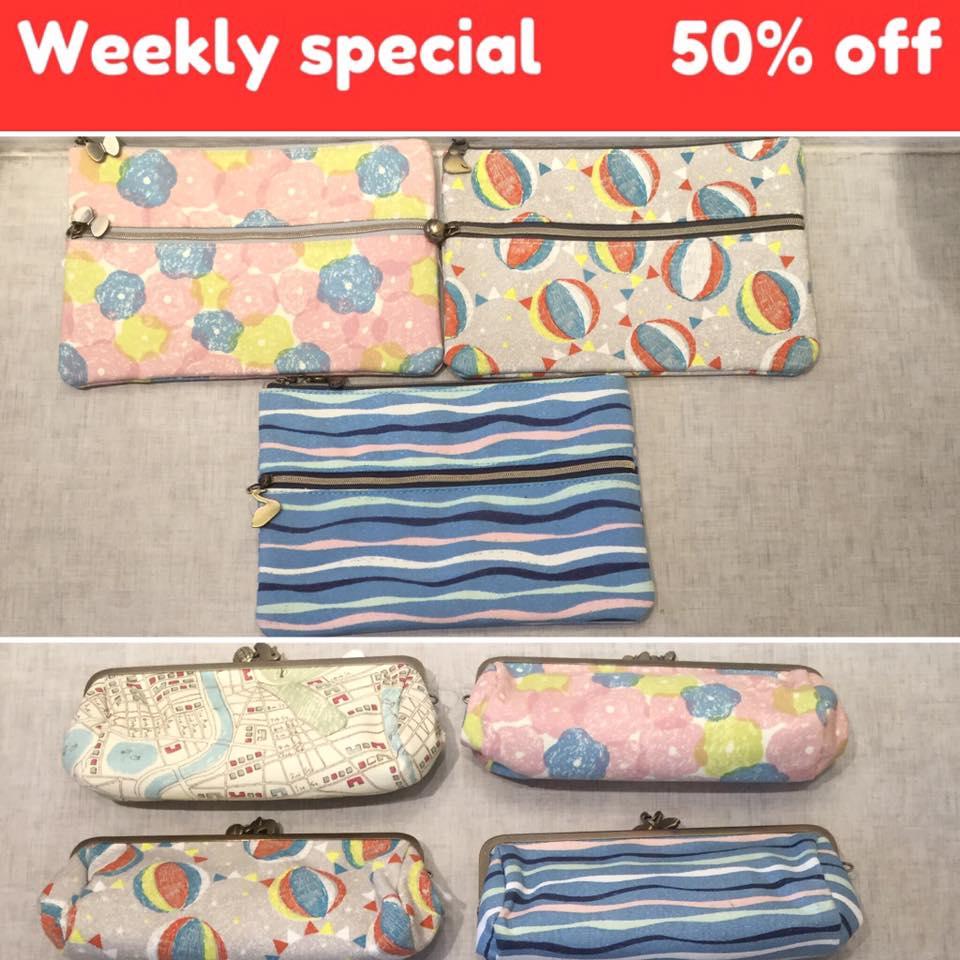 gamaguchi pen pouch 50%OFF