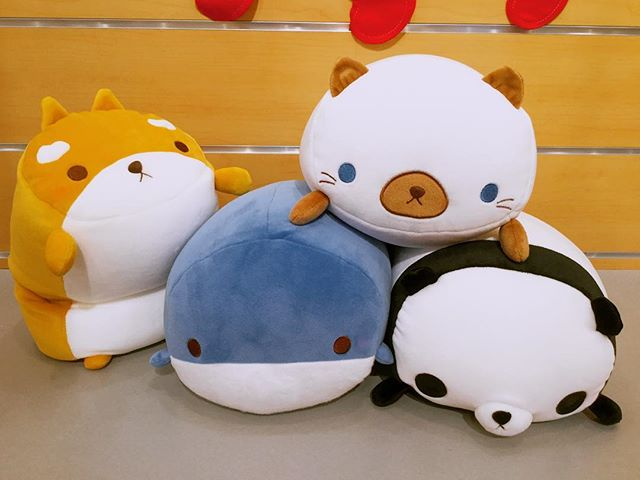 mochi mochi plushies are filled with foam beads and perfectly sized