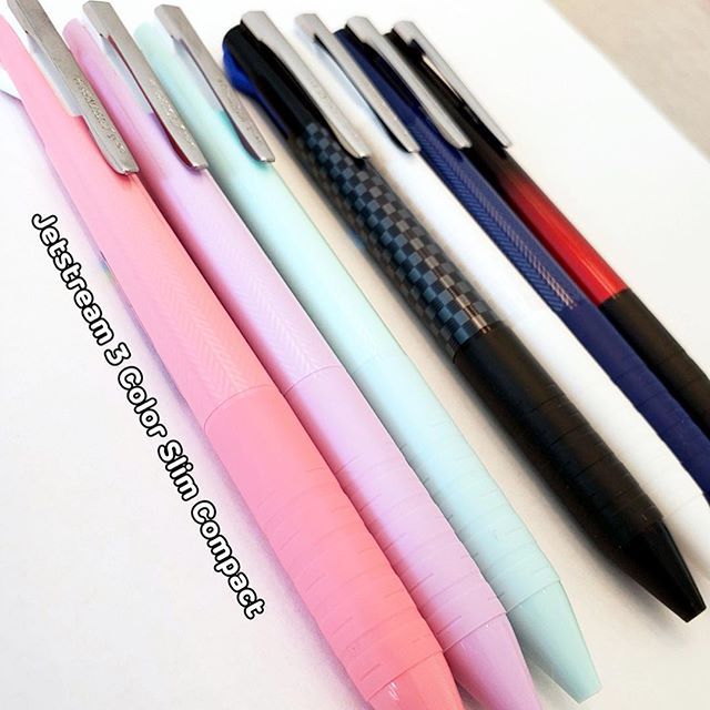 3a37fa3d71e New Item Uni Jetstream 3 Color Slim Compact pens are available at both our  Ward and Pearlridge locations!